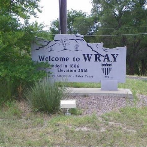 Welcome to Wray Sign