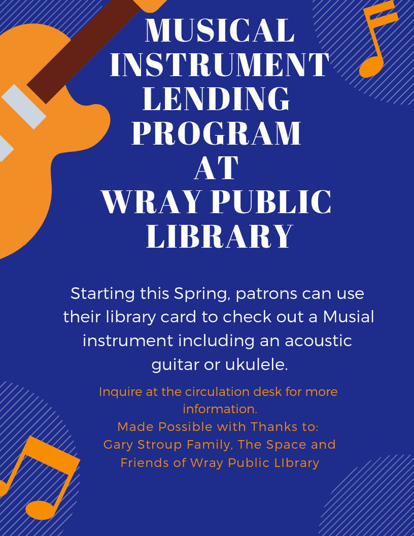 Music Lending Program at Wray Public Library (1)