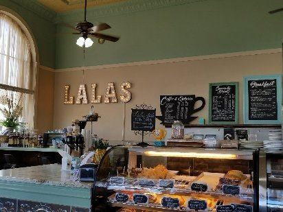 LaLa's Bakery and Espresso Bar Interior